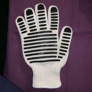 Kitchen oven mitten glove